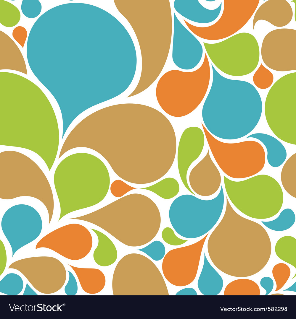 Abstract floral pattern seamless vector | Price: 1 Credit (USD $1)