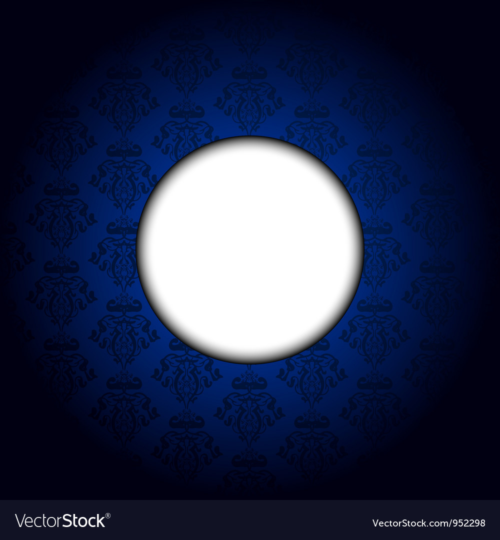 Blue tapet white frame vector   Price: 1 Credit (USD $1)