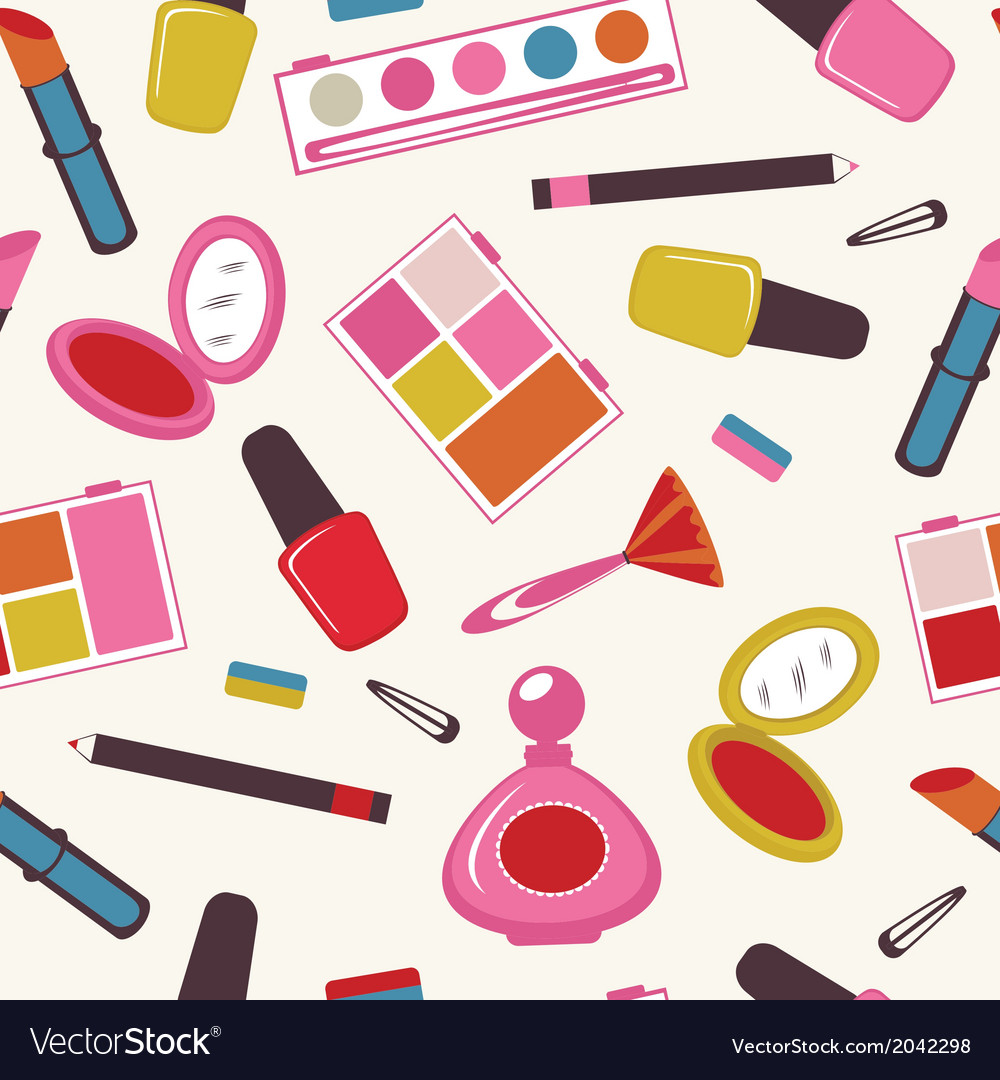 Make up pattern vector | Price: 1 Credit (USD $1)