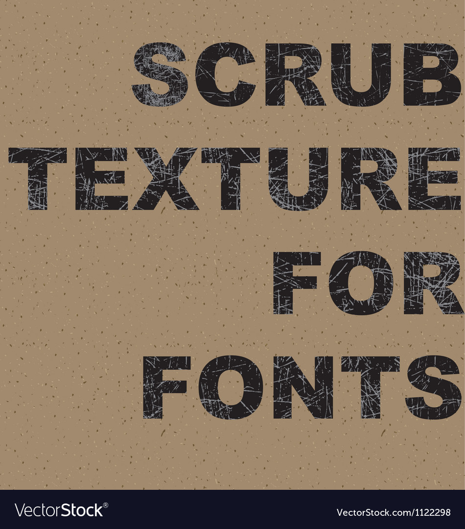 Scrub texture vector | Price: 1 Credit (USD $1)