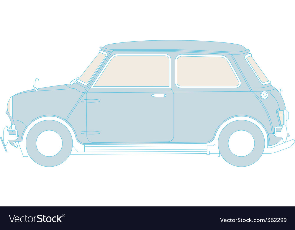 Classic mini vector | Price: 1 Credit (USD $1)