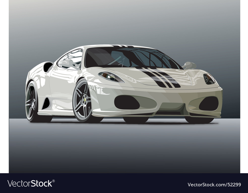 Ferrari vector | Price: 5 Credit (USD $5)