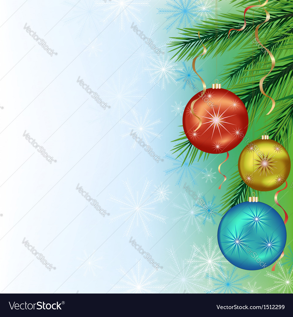 Festive background for new year and christmas vector | Price: 1 Credit (USD $1)
