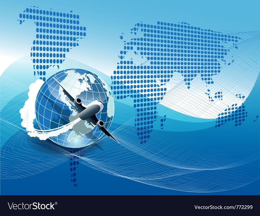 Plane modern background vector   Price: 3 Credit (USD $3)