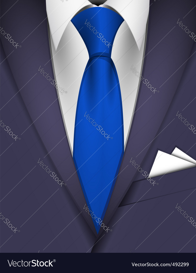 Suit and tie vector | Price: 1 Credit (USD $1)