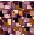 Retro geometric pattern vector