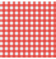Red picnic cloth vector