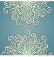 Colored ornate background vector