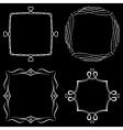 Set of nice decorative frames vector