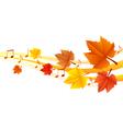 Autumn music vector