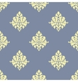 Sparse pattern of seamless victorian styled floral vector