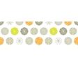 Abstract gray and green polka dot backgr vector