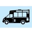 Food truck graphic vector