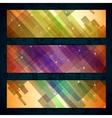 Set of light straight lines abstract background vector