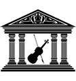 Concert hall vector