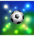 Classic soccer ball vector