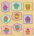 Cupcakes fr vector