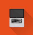 Computer icon minimal style vector
