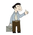 - business worker vector