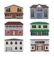 Home icon collection vector