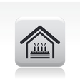 Birthday home vector
