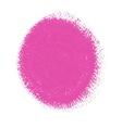 Pink acrylic paint circle vector