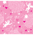 Valentines day pink background vector