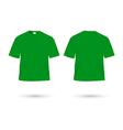 T shirt green vector