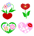 Flower images vector