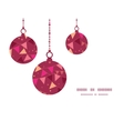 Decorations flags christmas ornaments silhouettes vector