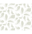 Feather seamless pattern vector