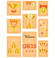 The circus - icon set vector
