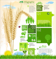 Modern ecology template design vector