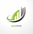 Real estate agency graphic design idea vector