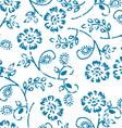 Grungy seamless pattern vector