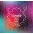 Colorful hipster blurred background vector
