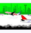 Aero plane vector