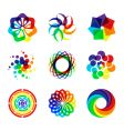 Geometric designs vector