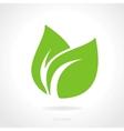 Eco green leaf concept vector