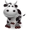 Cute cow cartooon vector