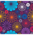 Flowers - seamless pattern vector