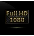 Full hd icon vector