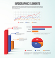 Infographics design elements business charts and g vector