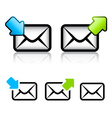 E-mail envelope icon vector