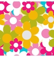 Flowers nature seamless pattern background vector