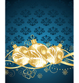 Beautiful christmas background - vector