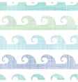 Abstract textile waves stripes seamless pattern vector
