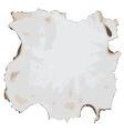 Burnt paper vector