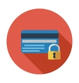 Credit card protection concept vector