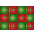 Texture grain green and red vector